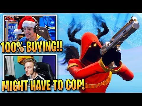 Fortnite Streamers AMAZED by *NEW* Cloaked Shadow Skin! | Fortnite Moments thumbnail