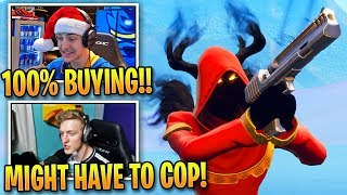 Fortnite Streamers AMAZED by 'NEW' Cloaked Shadow Skin! Moments Fortnite