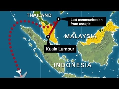 Map Of MH60's Updated Flight Path YouTube Gorgeous Flight Pattern Map