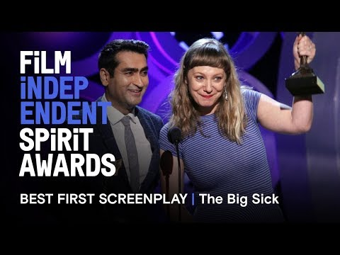 THE BIG SICK wins Best First Screenplay at the 2018 Film Independent Spirit Awards