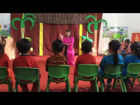 Phát triển ngôn ngữ, Thơ Nàng Tiên Ốc,, 5 tuổi, gv giỏi huyện