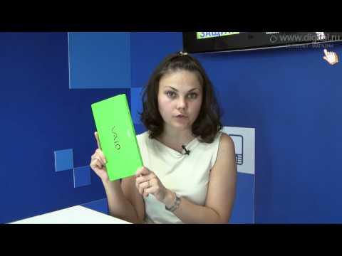 Видеообзор ноутбука Sony VAIO серии P