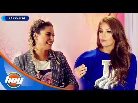 ¡Galilea Montijo presenta en exclusiva a Thalía! | Hoy