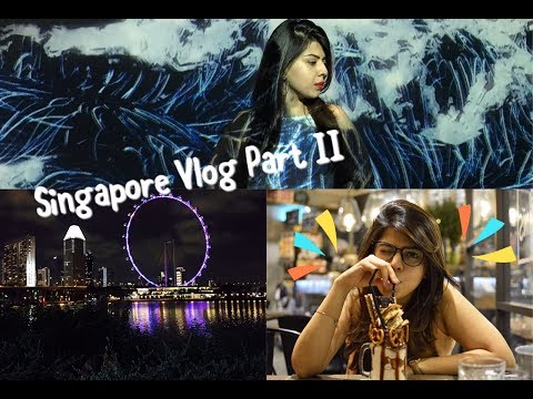 Travel Vlog: Singapore Part 2 | insane museums, milkshakes and Universal Studios! - Brown Girl Vlogs
