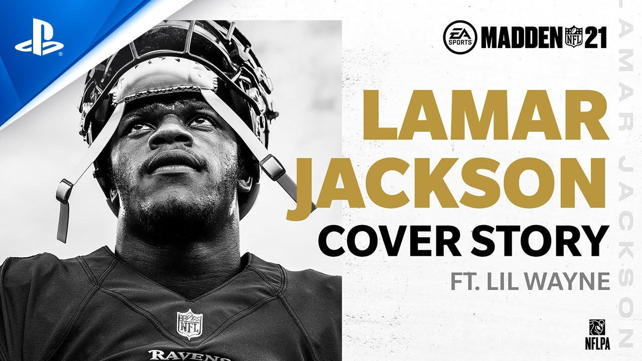 Madden 21 - Lamar Jackson Cover Story ft. Lil Wayne | PS4
