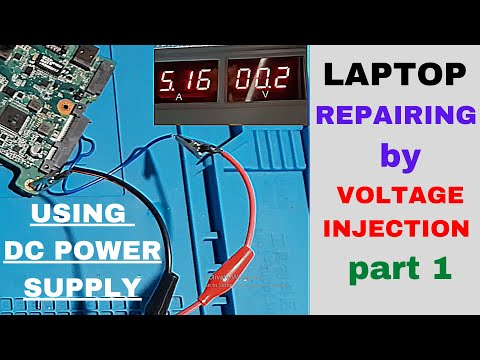LIVE ACER LAPTOP REPAIRING WITH VOLTAGE INJECTION PART 1 | ACER ASPIRE ES1-131 LAPTOP LIVE REPAIRING