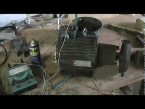 видео: Как отремонтировать электродвигатель