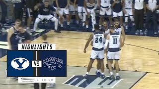 BYU vs. Nevada Basketball Highlights (2018-19)   Stadium