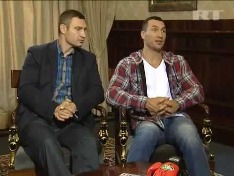 Vitali and Wladimir Klitschko Interview