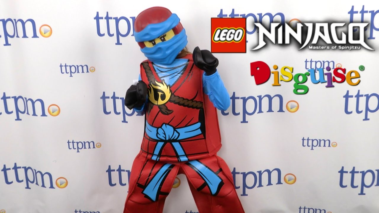 LEGO Ninjago Nya Prestige Child Costume from Disguise  sc 1 st  YouTube & LEGO Ninjago Nya Prestige Child Costume from Disguise - YouTube