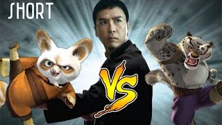 MovieMash Short: Master Shifu vs Tai Lung (IP Man 3 Style)