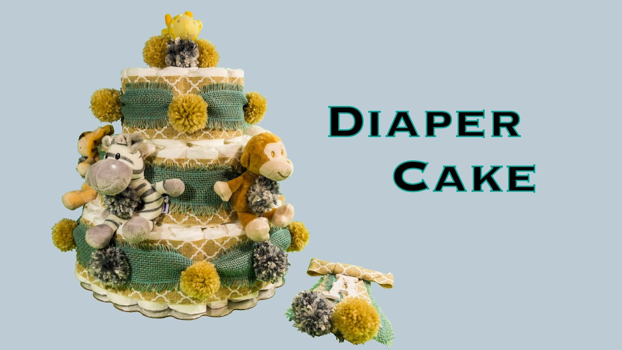 Diaper cake corsage baby boy shower gift diy how to make diaper cake corsage baby boy shower gift diy how to make rolled diaper method youtube negle Image collections