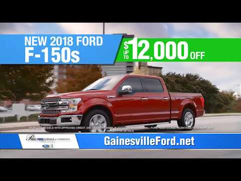 Parks Ford Gainesville >> Massive Spring Clear Out At Parks Ford Lincoln Of Gainesville