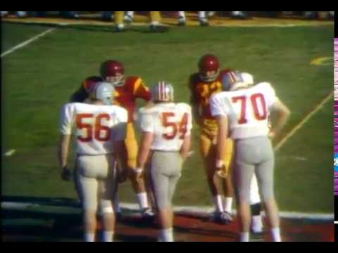 1969 Rose Bowl Ohio State vs USC No Huddle - YouTube