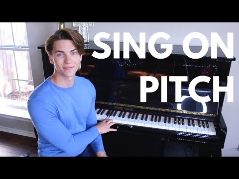 How to sing on pitch (This exercise will improve pitch instantly)