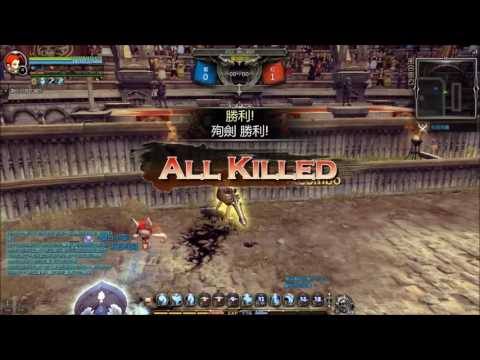 Dragon Nest │ 93Lv Awakened Gladiator Gameplay (Aug. 2 2016)