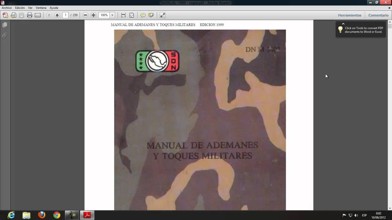 Manual banda de guerra-1999.