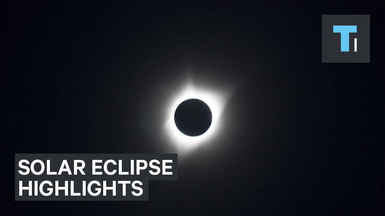 Highlights Of The 2017 Solar Eclipse