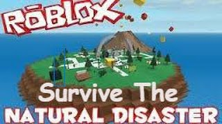 Playing Roblox Natural Disaster Survival!! Watch Me Try To Survive The Hard Way