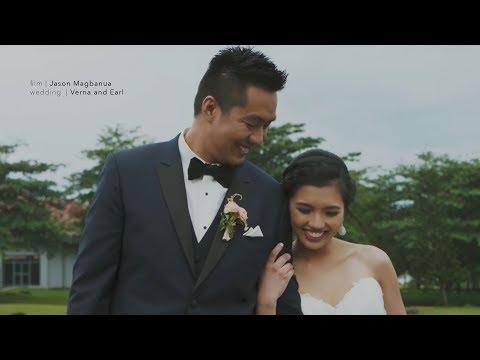Verna and Earl: A Wedding at San Jose Parish Church, Batangas