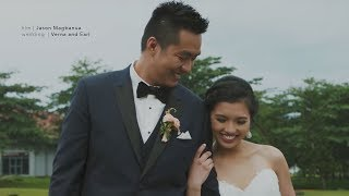 Verna and Earl: A Wedding at San Jose Parish Church, Batangas