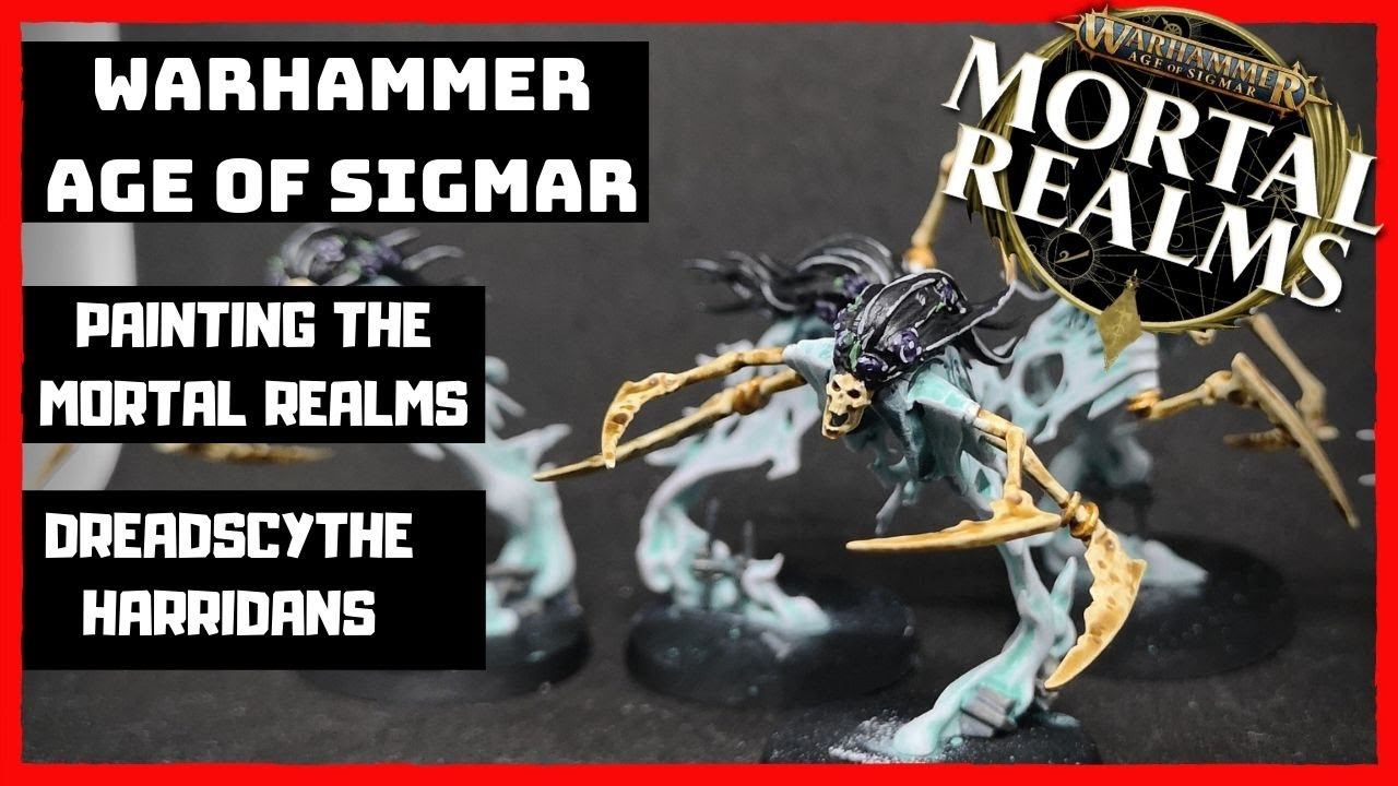 Warhammer Age of Sigmar - Painting the Mortal Realms - Dreadscythe Harridans