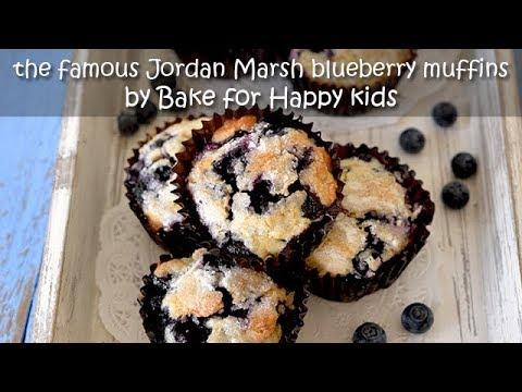 The Famous Jordan Marsh Blueberry Muffins