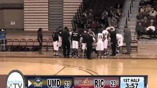 RIC Basketball vs UMass Dartmouth LEC Tourney Feb 19