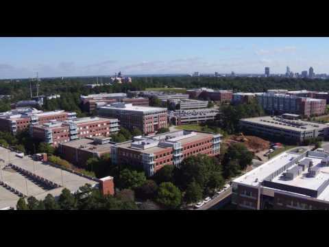 Aerial Footage of Centennial Campus 1