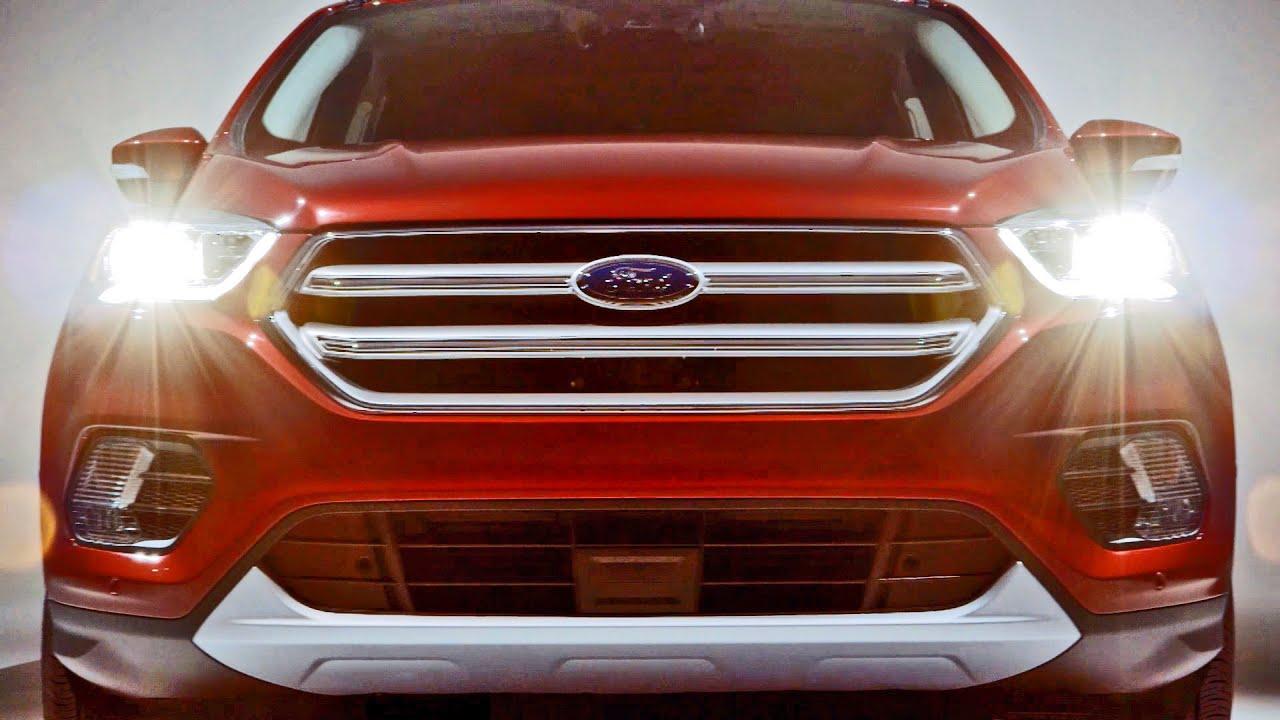 Ford Escape Titanium >> 2017 Ford Escape - Interior and Exterior Walkaround - YouTube