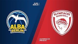 ALBA Berlin - Olympiacos Piraeus Highlights | Turkish Airlines EuroLeague, RS Round 10