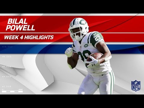 Bilal Powell's Big Day w/ 163 Yards Rushing & 1 TD! | Jaguars vs. Jets | Wk 4 Player Highlights