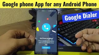 How to Use Google Phone Beta App in any Android Phone   Realme 6 pro
