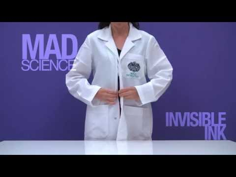 Invisible Ink Mad Science Home Lab