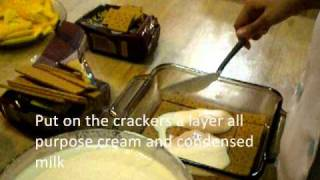 How To Make Graham Cake