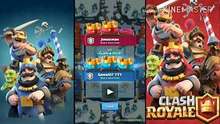 Gameplay battle Epic Clash Royale (challenged election) by Gama107 YTY