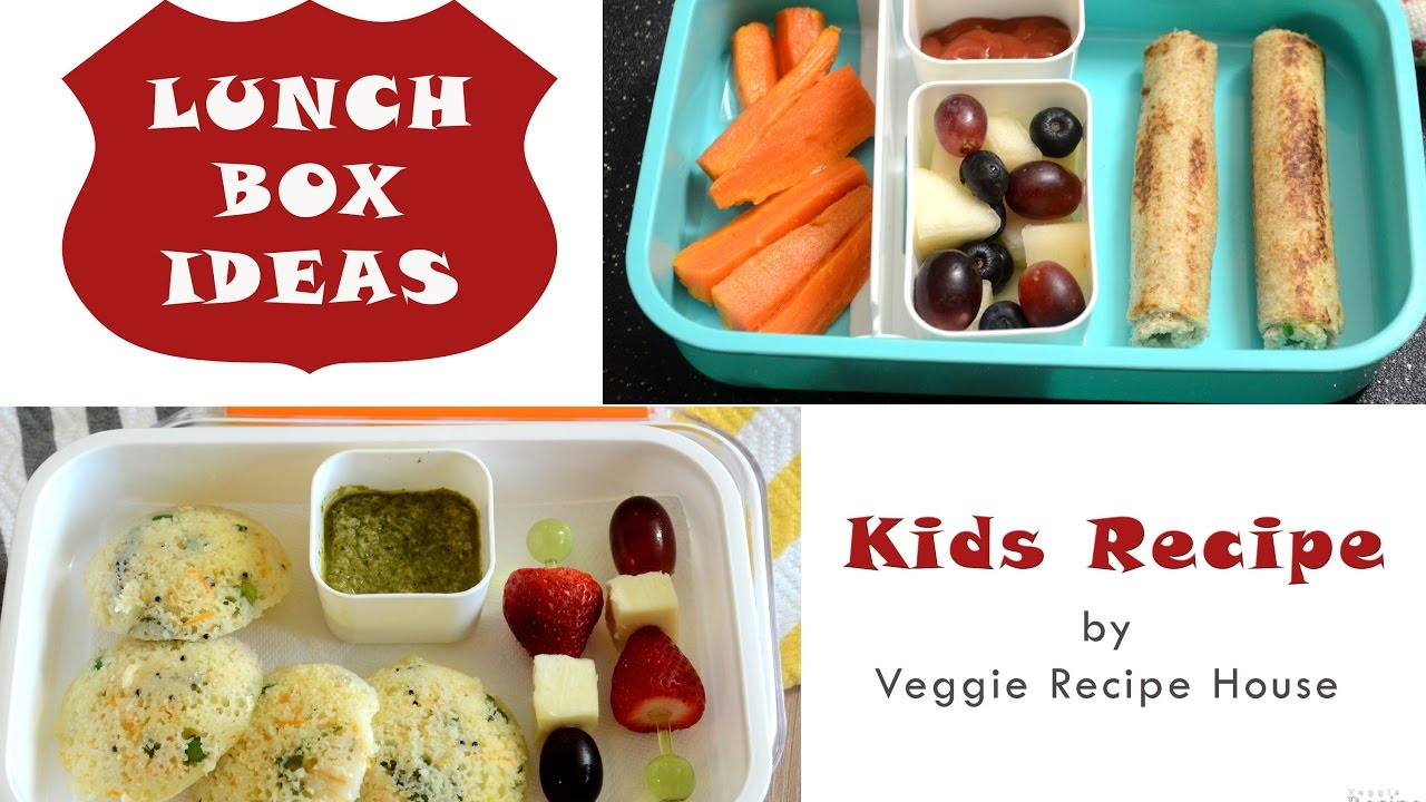 kids lunch box ideas - part 4 | indian lunch box recipes | quick