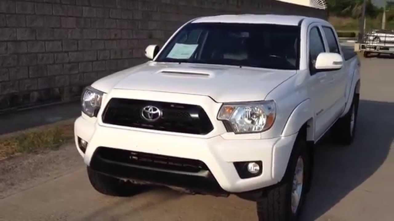 Toyota Tacoma 2012 4x4 Youtube