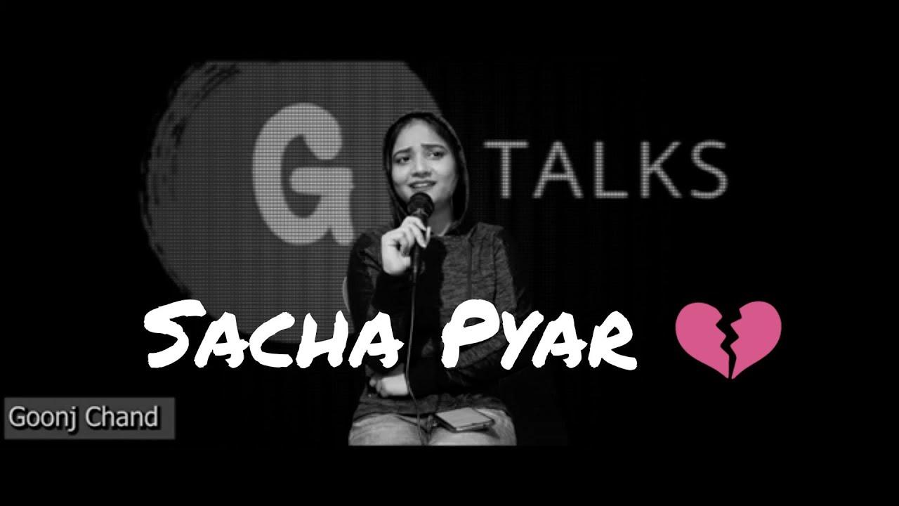 Sacha Pyar ? New Sad ? Poetry Whatsapp Status | Female Version | Goonj Chand | avish status
