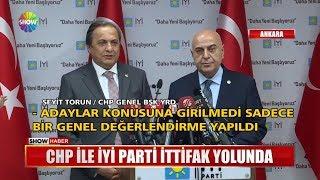 CHP ile İYİ Parti ittifak yolunda