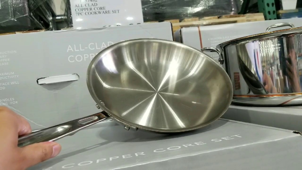 Costco All Clad 7 Piece Copper Core Cookware Set 699 Is It Worth