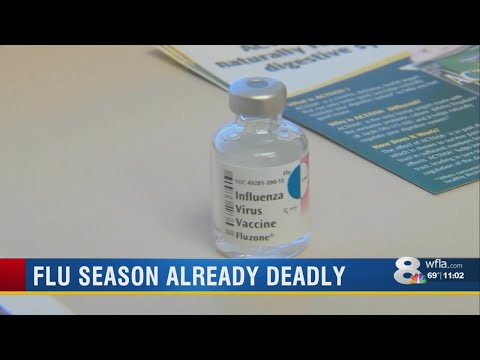 Kevin Campbell - Flu Season On The Rise In Florida, Expected To Be Worst Ever
