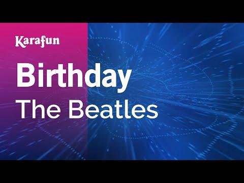 Karaoke Birthday - The Beatles *