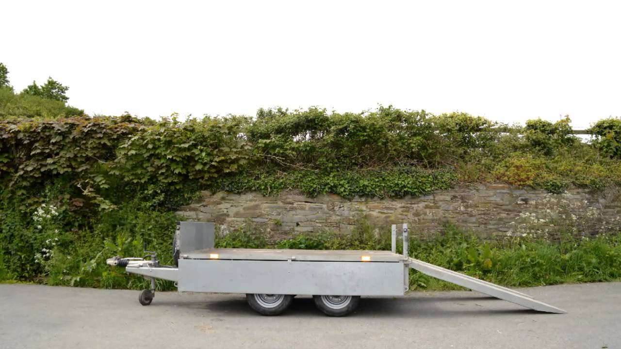 Jb Trailer Hire Ifor Williams Flat Bed 8x5 Lm85