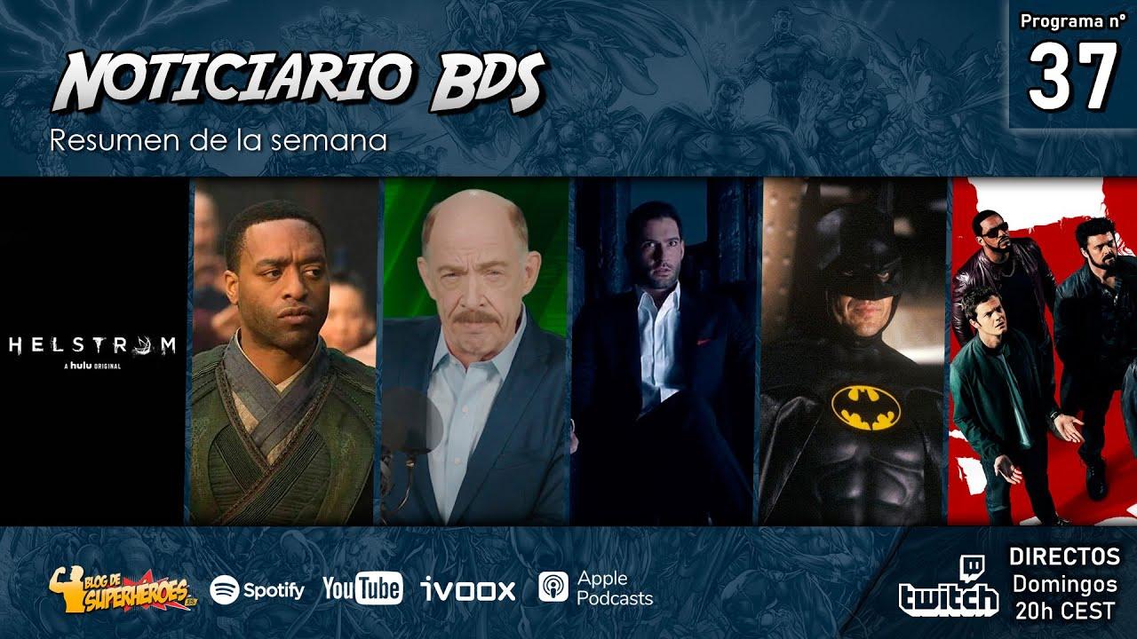 Noticiario BdS #37: Mordo estará en Doctor Strange 2, Michael Keaton como Batman para Flashpoint...