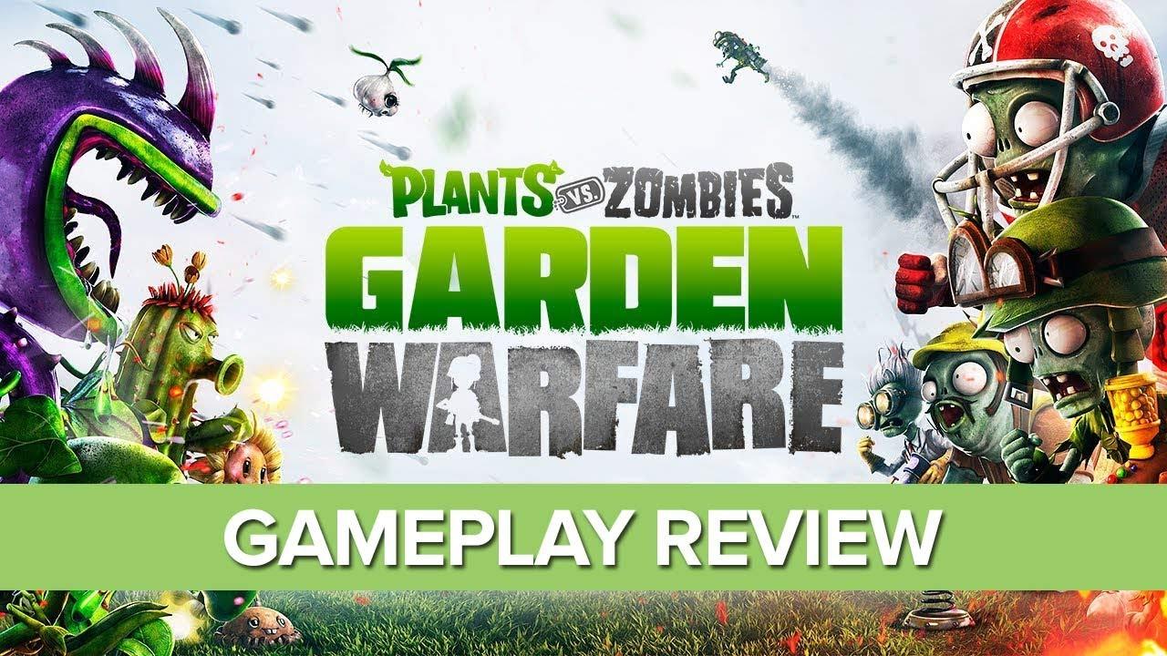 plants vs zombies garden warfare xbox one gameplay review - Plants Vs Zombies Garden Warfare Xbox One
