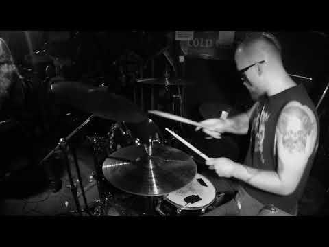 Abysmal Lord - J.B. Drum Cam - live at 5 Star Bar 5/13/2018