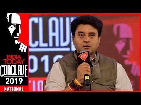 Jyotiraditya Scindia Accuses BJP Of Politicising Pulwama Incident  | IT Conclave 2019