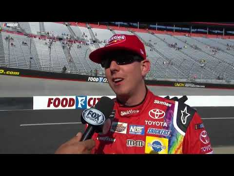 Kyle Busch talks about beating older brother for Bristol pole