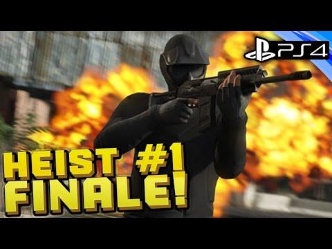 GTA 5 Online - BANK HEIST FINALE!! - PS4 CREW Live Stream